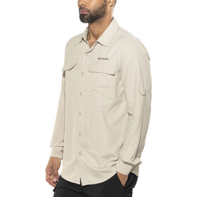 Columbia Silver Ridge II Longsleeve Shirt Men fossil